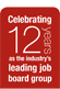 Celebrating 12 years as the industry's leading job board