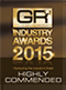 Global Recruiter Industry Awards 2015 - Highly Commended