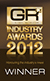 Global Recruiter Industry Awards 2012 - Winner