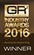 Global Recruiter Industry Awards 2016 - Winner