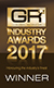 Global Recruiter Industry Awards 2017 - Winner