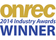 onrec winner 2014 logo