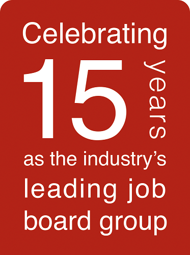 Careers In Group 15 years logo