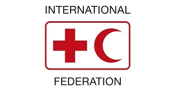 The International Federation of Red Cross and Red Crescent Societies (IFRC) logo