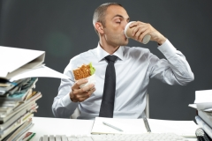 Lunch is for Wimps | Audit Career Advice