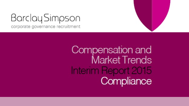 Compensation and Market trends Interim reports 2015 - Compliance