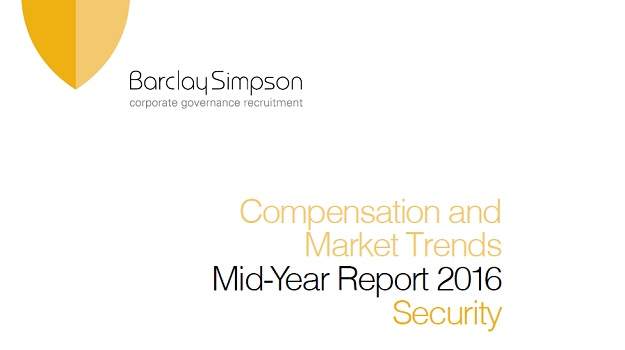 Security - Compensation and Market Trends - Mid-Year report 2016