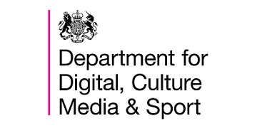 Department for Digital, Culture, Media and Sport (DCMS) logo