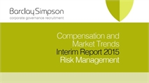 Compensation and Market trends Interim reports 2015 - Risk Management
