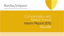 Compensation and Market trends Interim reports 2015 - Security