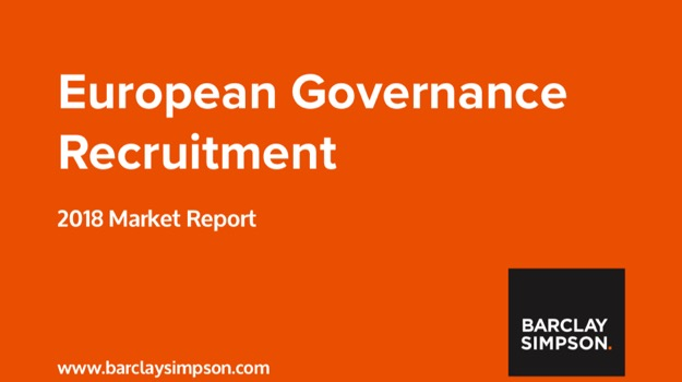 European Governance Recruitment - 2018 Market Report