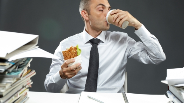 From Wimps to Winners: A Short History of the Office Lunch