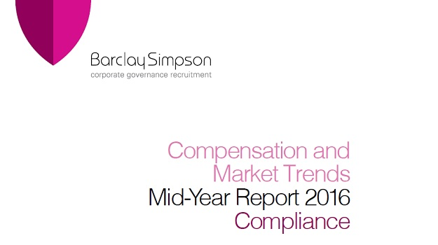 Compliance - Compensation and Market Trends - Mid-Year report 2016
