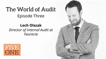 The World of Audit - Episode 3 - Lech Olszak - Director of Internal Audit at Faurecia