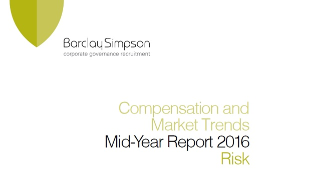 Risk - Compensation and Market Trends - Mid-Year report 2016