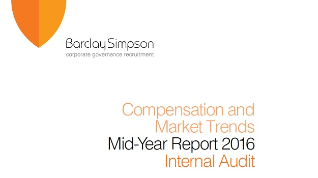 Internal Audit - Compensation and Market Trends - Mid-Year report 2016