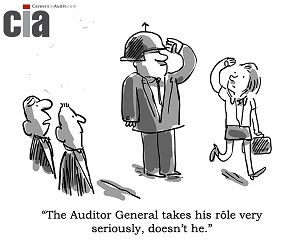 Auditor General - Audit Cartoons